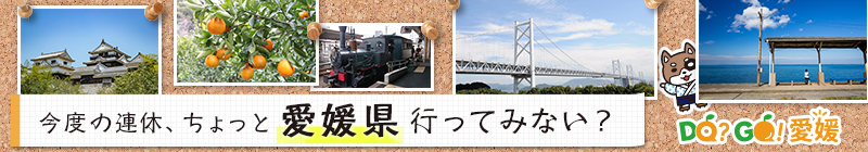 愛媛県行ってみない?